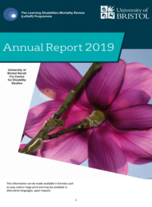 LeDeR annual report front cover