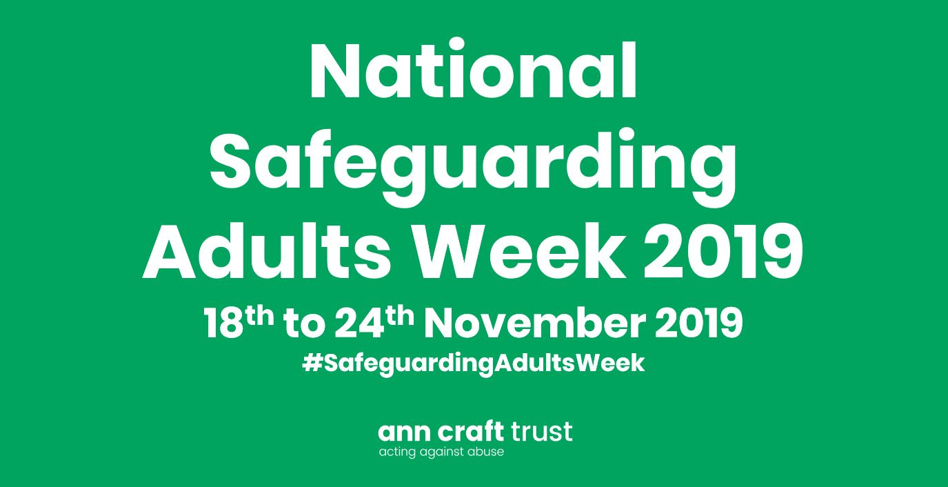Safeguarding Adults Week 18th to 24th November 2019 post image